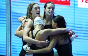 Canadian Women's 400 Free Relay Record A Statement On Day 1 In Gwangju