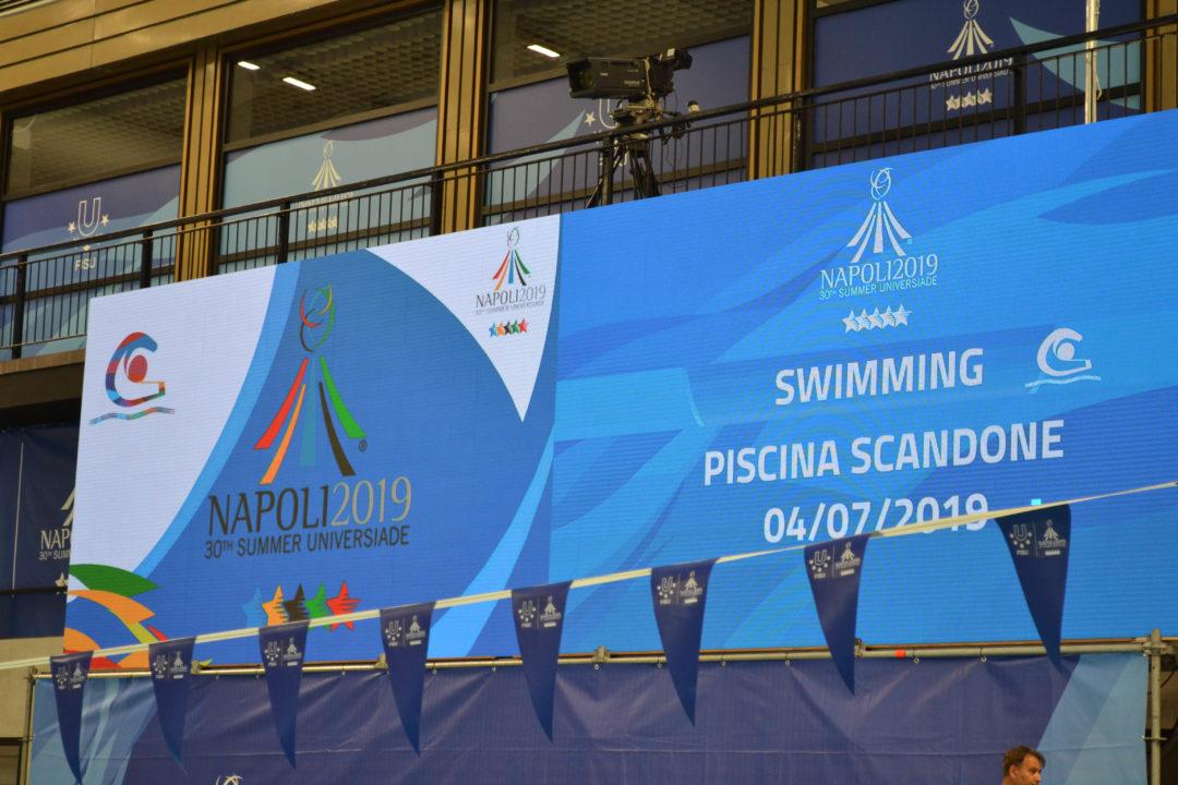 Universiade 2019: Lisa Höpink gewinnt SIlber über 100 m Freistil