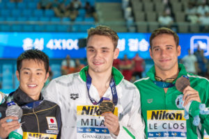 Swimming's TopTenTweets: Le Clos Tell Seto To Watch Out!