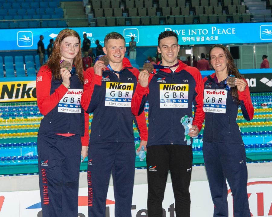 British Swimming Indica Gli Atleti Autorizzati Ad Allenarsi, In Teoria