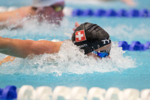 Wolfpack's Noe Ponti Lowers Hours-Old Swiss 100 Fly Record To 51.15
