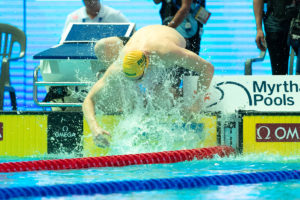 Horton No-Shows 800 Free But Steers MVC To Relay Gold At Vic Open