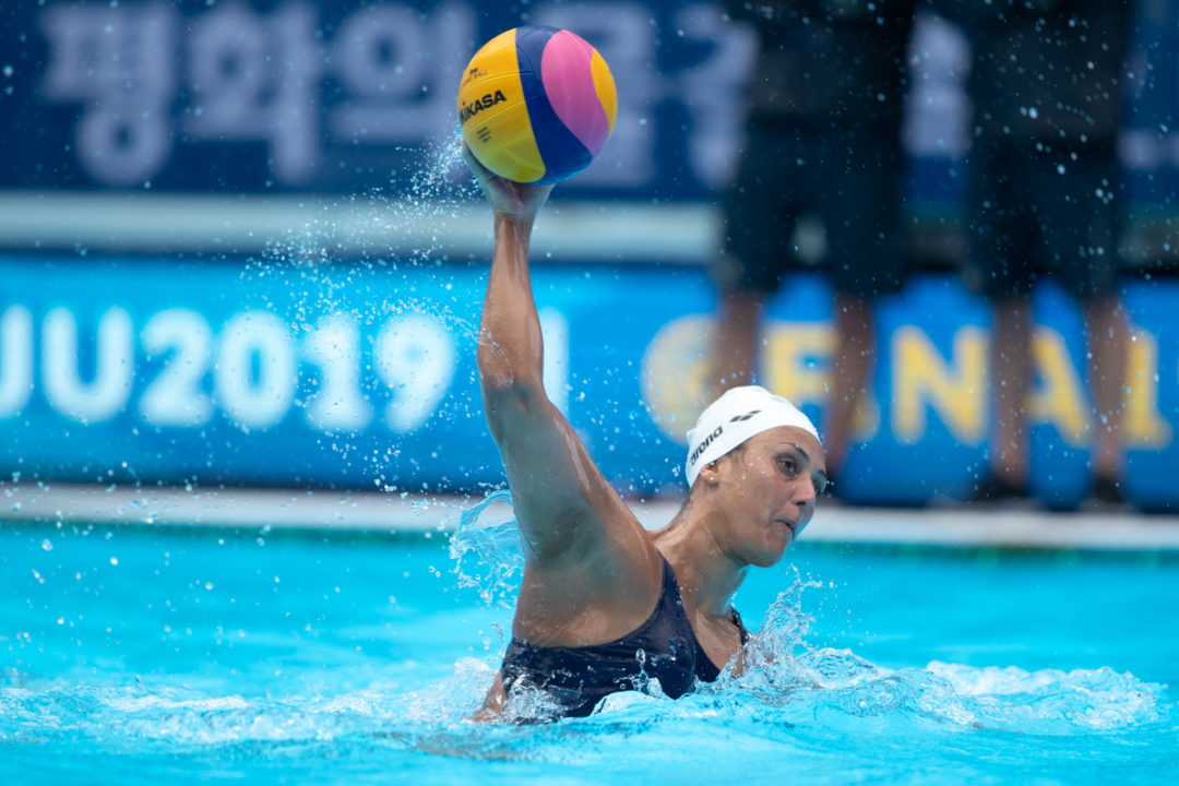 FINA Women's Water Polo: Italy Loses At Home, Spain Edges Hungary