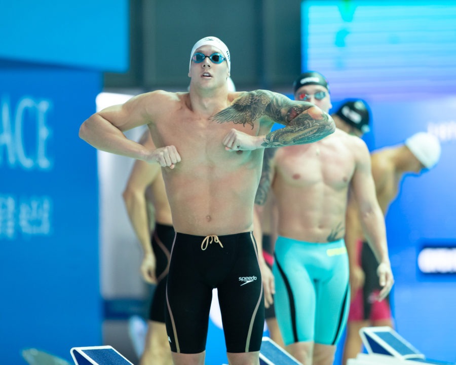 Does Caeleb Dressel Accelerate? A Statistical & Video-Based Look