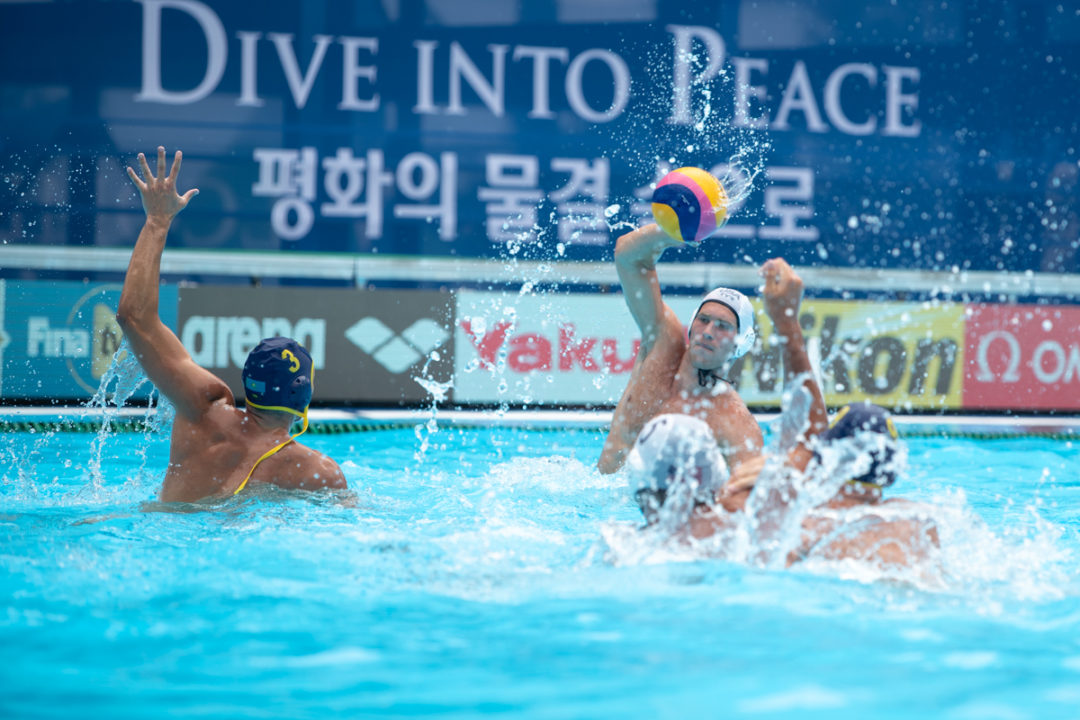 US Men's Water Polo Announces Training Roster For Travel To Europe & Australia