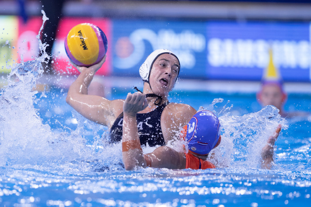 USA Women's Water Polo Return To Pool With 11-7 Win Over The Netherlands