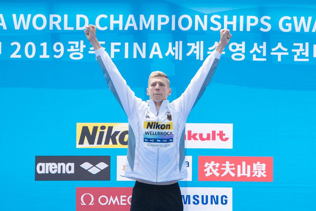 Florian Wellbrock Becomes 1st to Win 10K/1500 Gold at Major International Meet