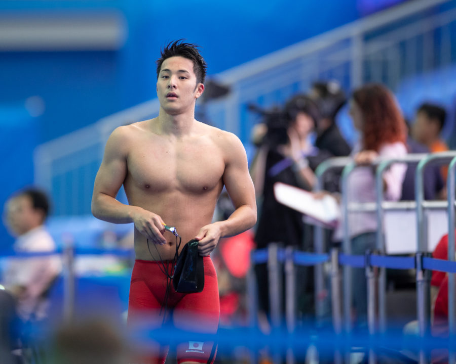 On-Fire Daiya Seto Becomes Japan's 7th Fastest 200 Freestyler All-Time