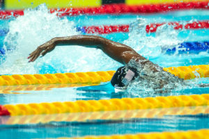 Watch Team USA's World Record Mixed 4 x 100 Free Relay From Under Water