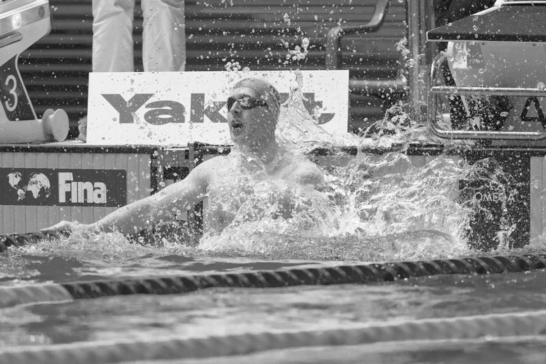 Matthew Wilson égale le record du monde de Watanabe sur 200 m brasse