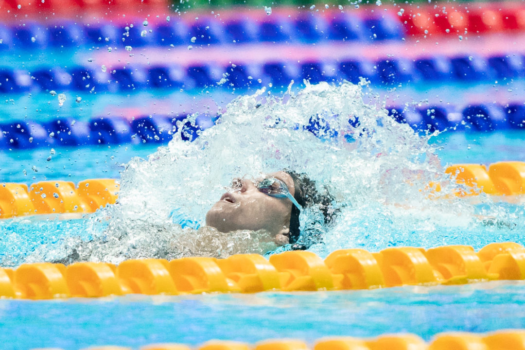 The Congestion In U.S. Women's Backstroke Heading Into 2020