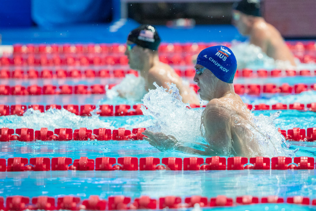 How Men's 200 Breaststroke Has Exponentially Improved Since 2010