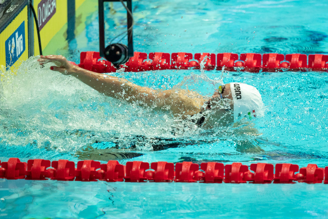 Hosszu Passes Campbell Back To Win World Cup Cluster 1; Morozov Also Wins
