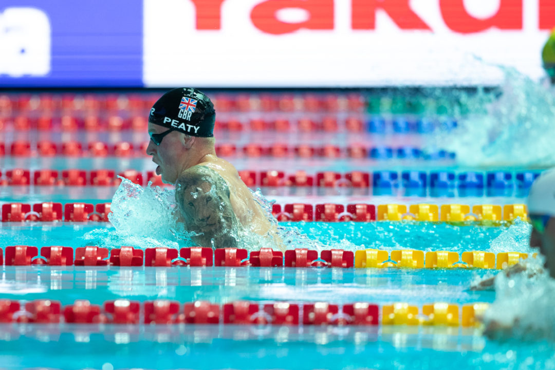 Adam Peaty In Gara Al McCullagh Meet: Finali Al Mattino Come A Tokyo