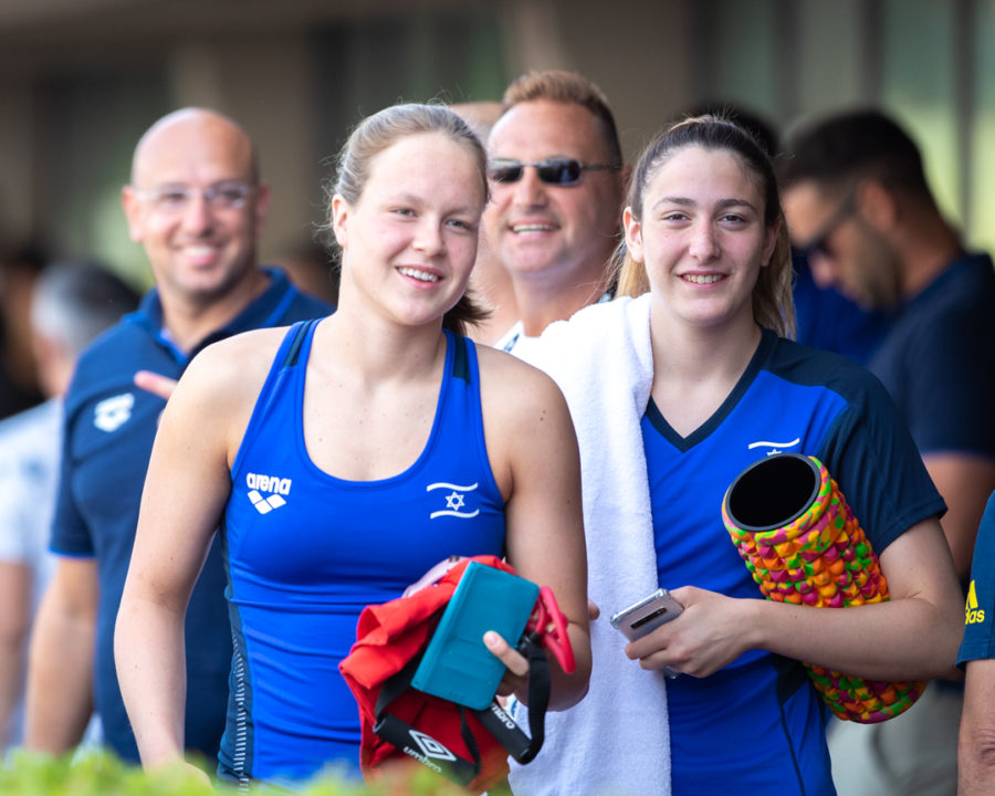 2019 World Juniors: Gorbenko Destroys Israeli Record In Women's 100 Back