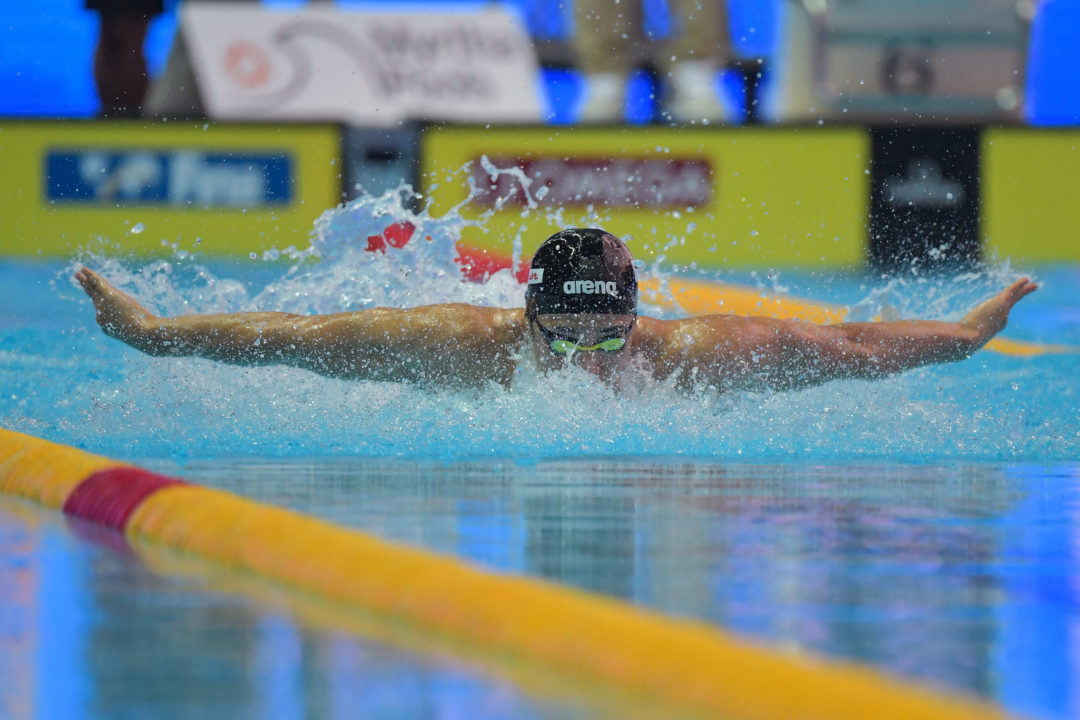 Japan's Daiya Seto Pulls Off Tough 2Fly/2IM Double On Night 4