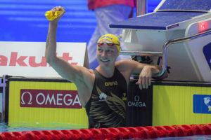 Caeleb Dressel et Sarah Sjostrom nommés meilleurs athlètes des Mondiaux 2019