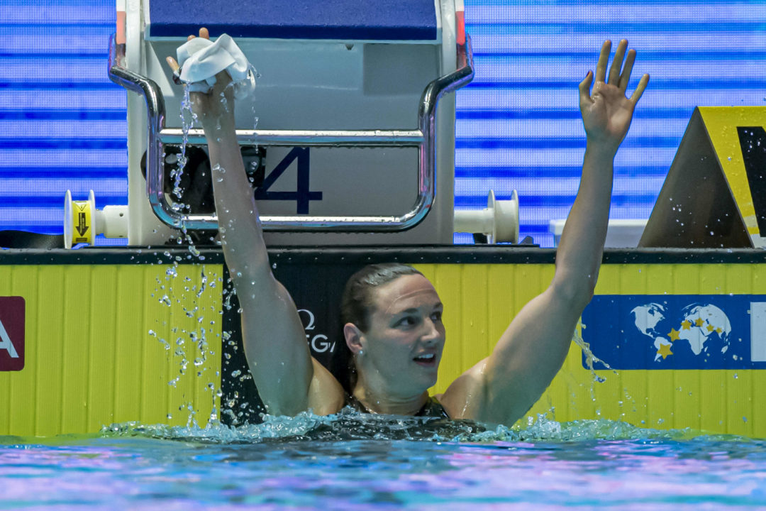 Katinka Hosszu Wraps Up 300th World Cup Gold With 200 Fly Win in Kazan
