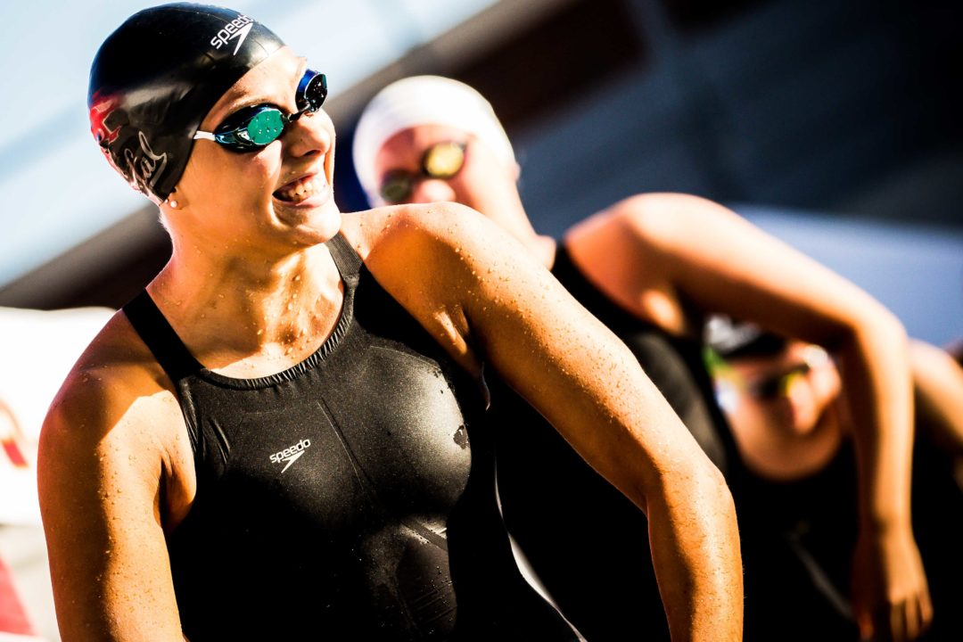 Ivey Chooses 100 Back/Fly Double on Day 3, No Individual Race on Day 2 at NCAAs