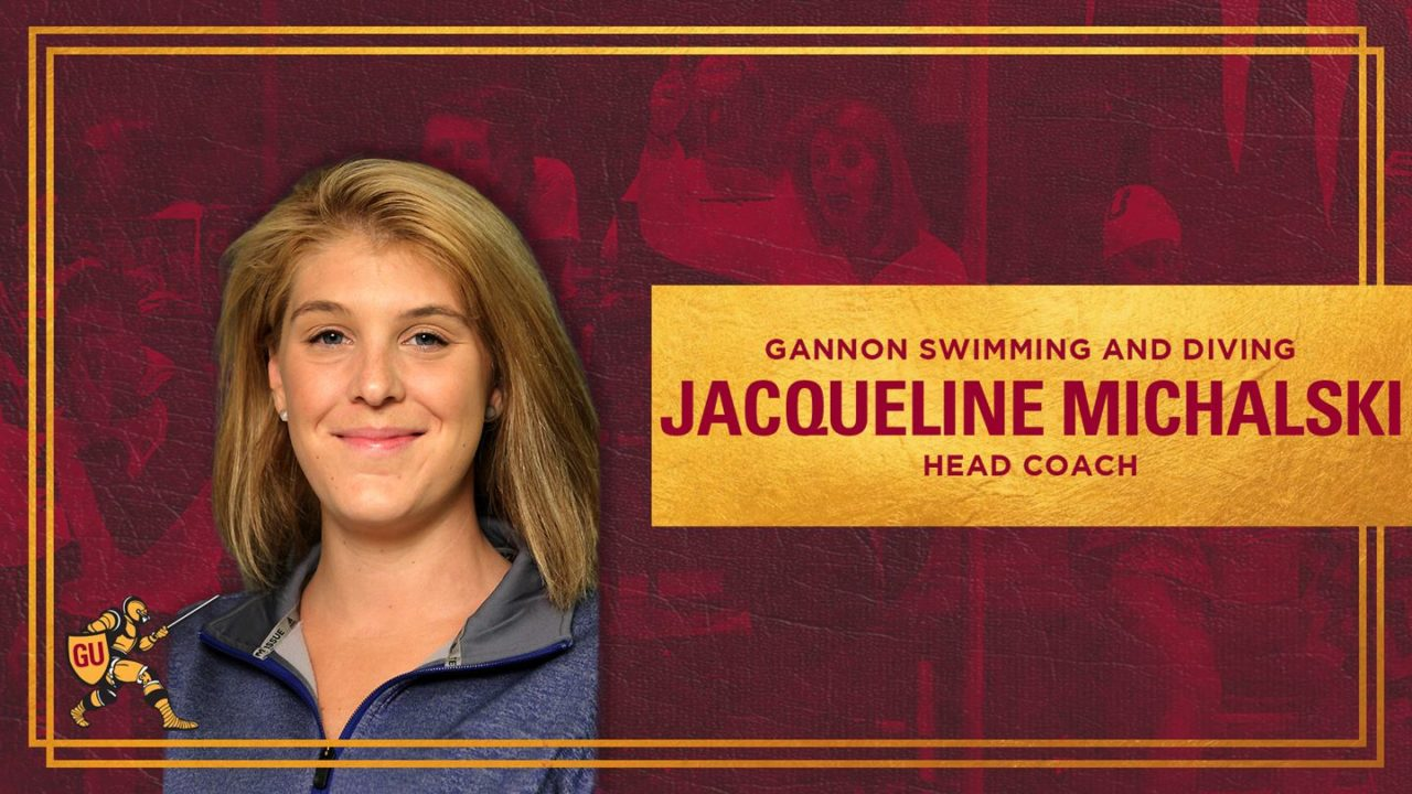 Michalski Tabbed as Head Coach for Gannon Swimming & Diving