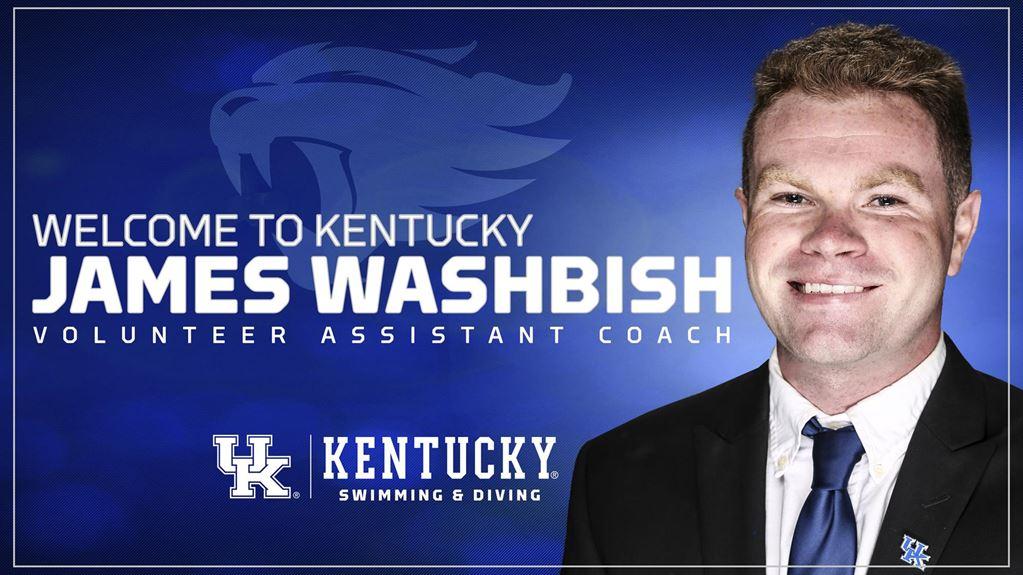Kentucky Names James Washbish as Volunteer Assistant Coach