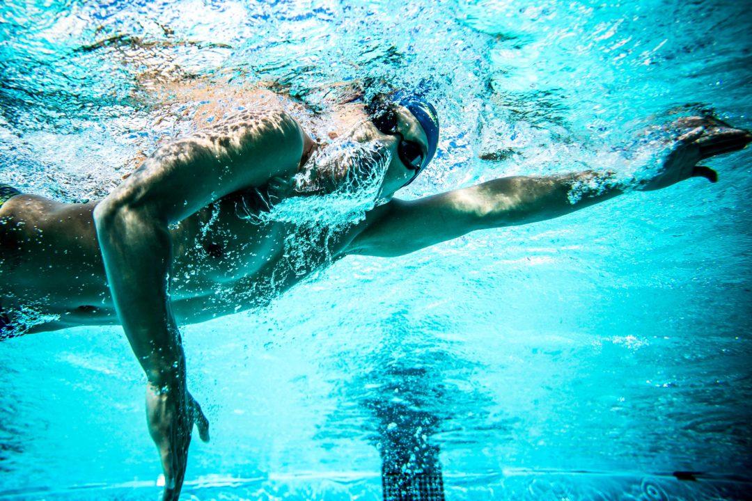 Il Nuotatore In Vacanza Ed I Gesti Che Lo Contraddistinguono