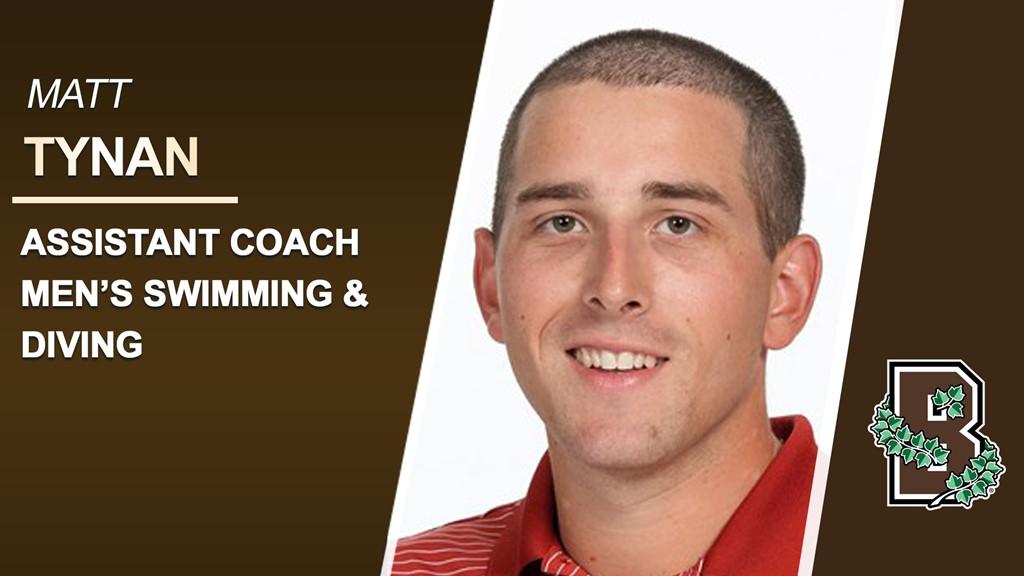 Brown Hires Matt Tynan as New Men's Swimming Assistant