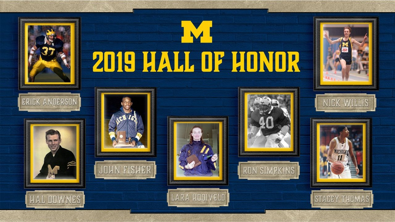 Swimmer Lara Hooiveld Tabbed for Michigan Athletics' 2019 Hall of Honor Class
