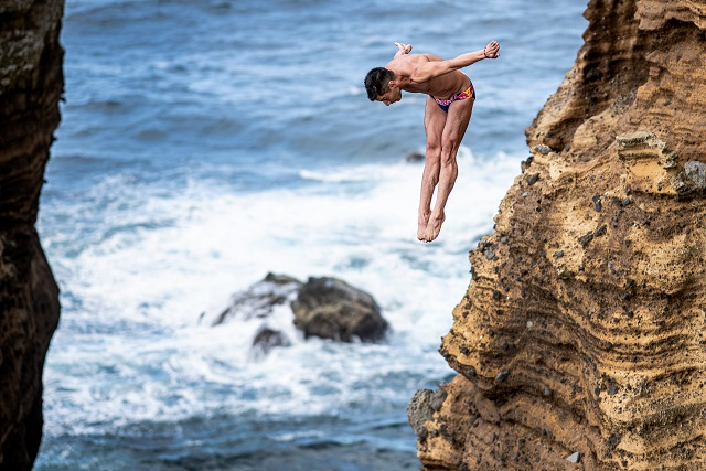 Red Bull Cliff Diving World Series Heads to Beirut Coast of Lebanon
