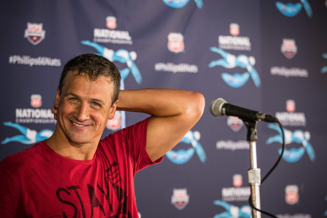 Full Ryan Lochte Post-200 IM Press Conference (Video)