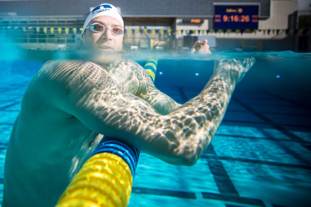 Cal Men Spring Swim and Weights Practice: Photo Vault