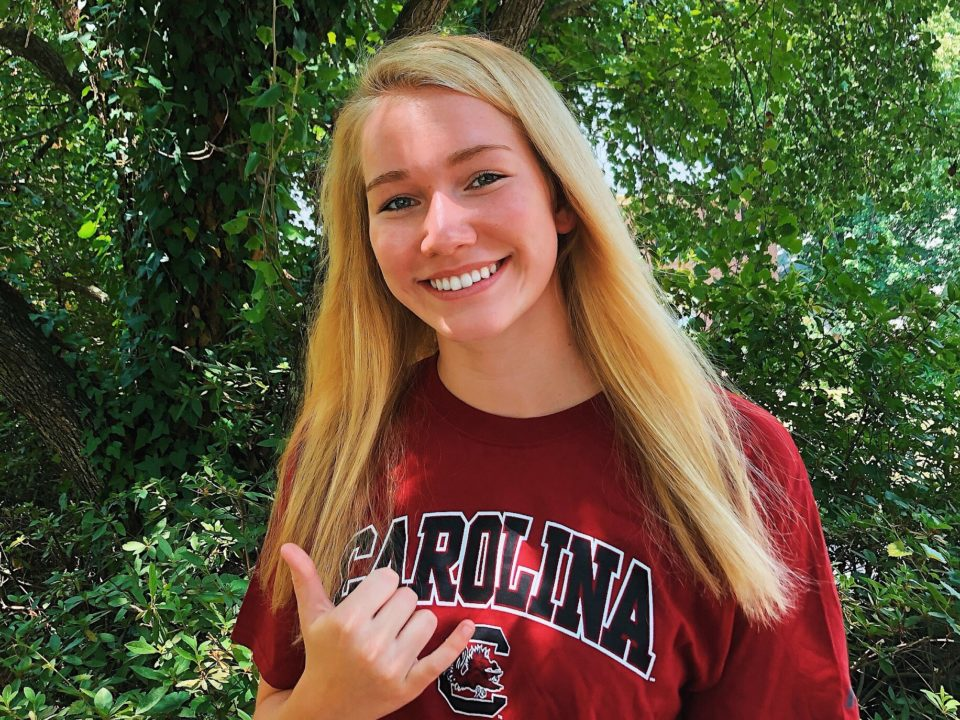South Carolina Scores 2020 Verbal from Homegrown Talent Hayley Mason