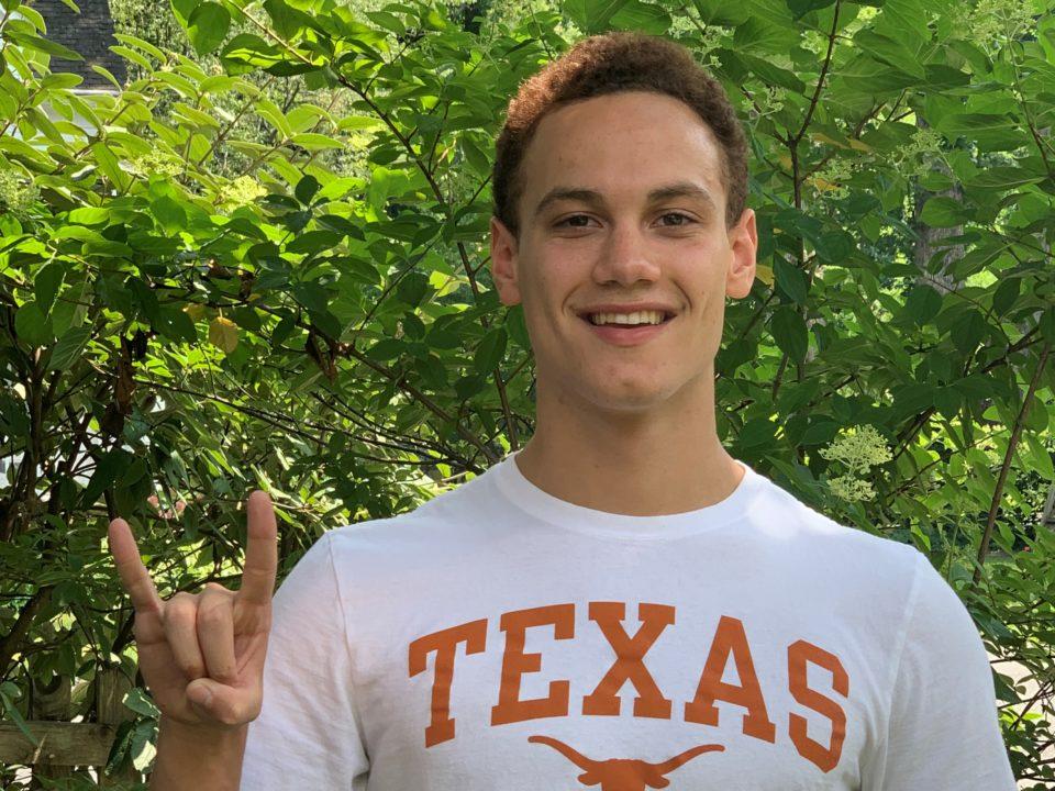 Machine Aquatics' Ben Charles Adds Verbal Commitment to Texas Class of 2024