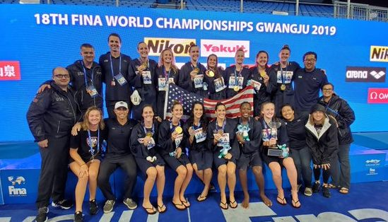 3-Peat: USA Women's WP Tops Spain 11-6, Wins 3rd Straight World Championship