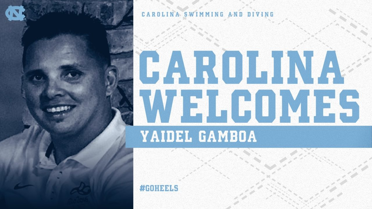 North Carolina Tabs Gamboa as Head Diving Coach to Complete Staff