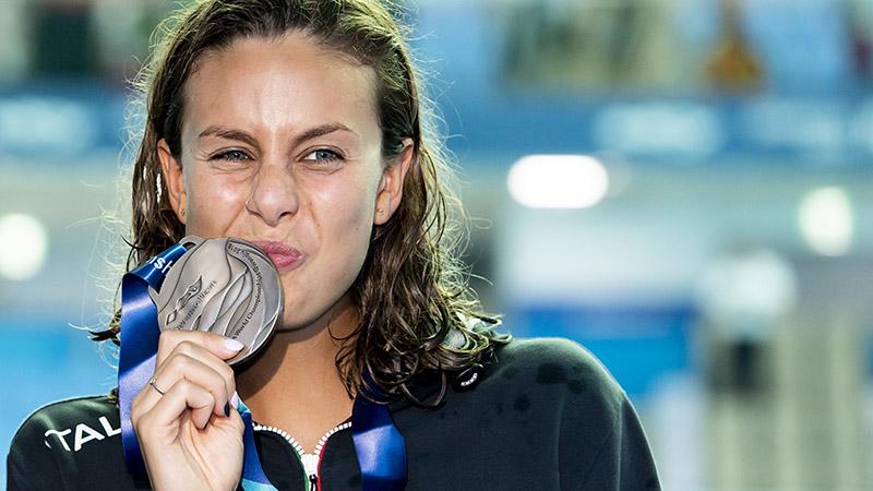 History-Making Carraro Among This Week's Italian Summer C'Ships Swimmers