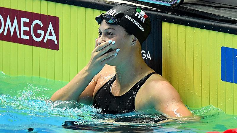 World Cup Series Kazan : Castiglioni Oro Nei 100 Grinev Record