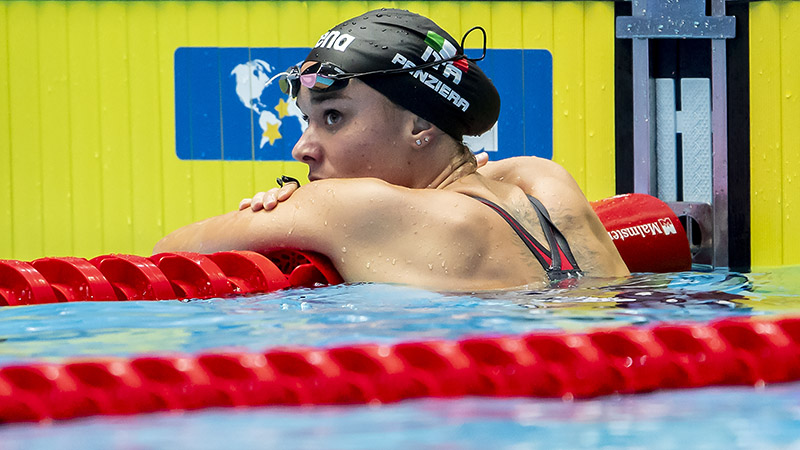Margherita Panziera Cuts A Tenth Off Italian 200 Back Record With Euros Gold