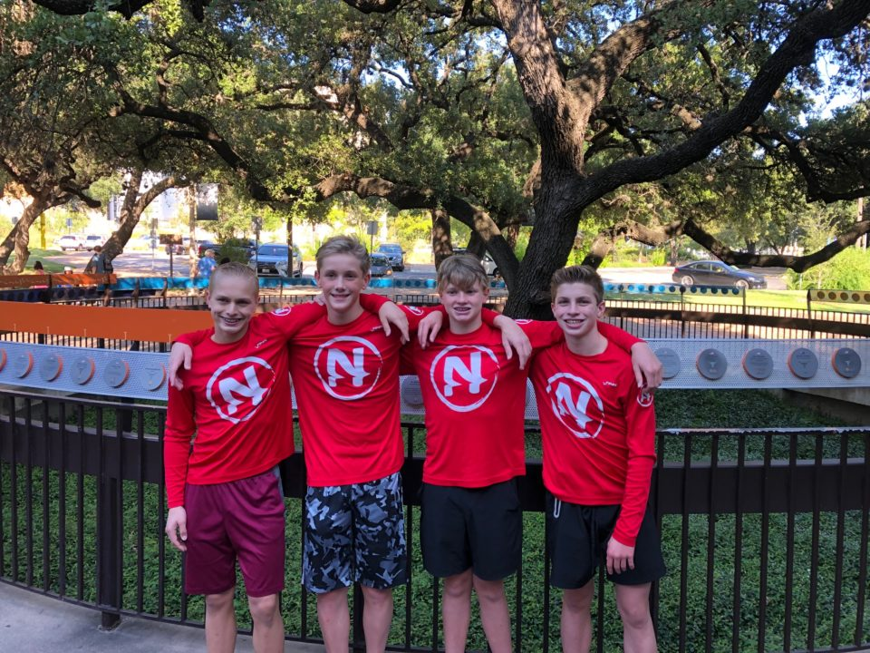 14-Year-Old Jeremy Kelly Posts Futures Cut at Nitro Swimming Intrasquad Meet