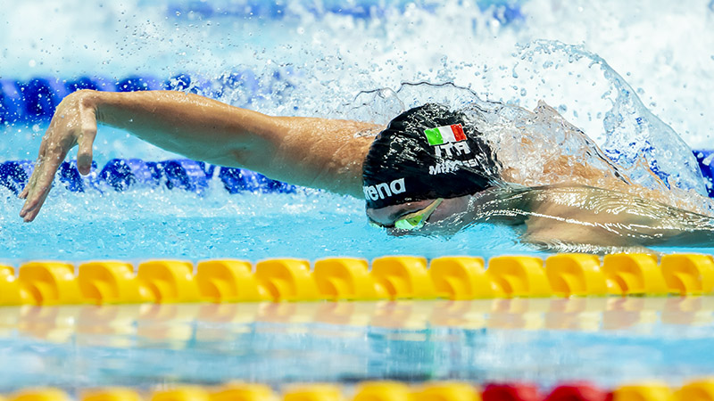 Aqua Centurion/Italian Men Set New SCM 400 Medley Relay National Record