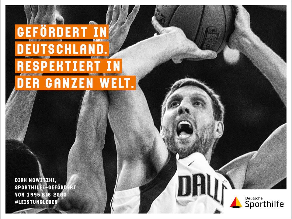 Neue Kampagne der Deutschen Sporthilfe: Leistungsleben