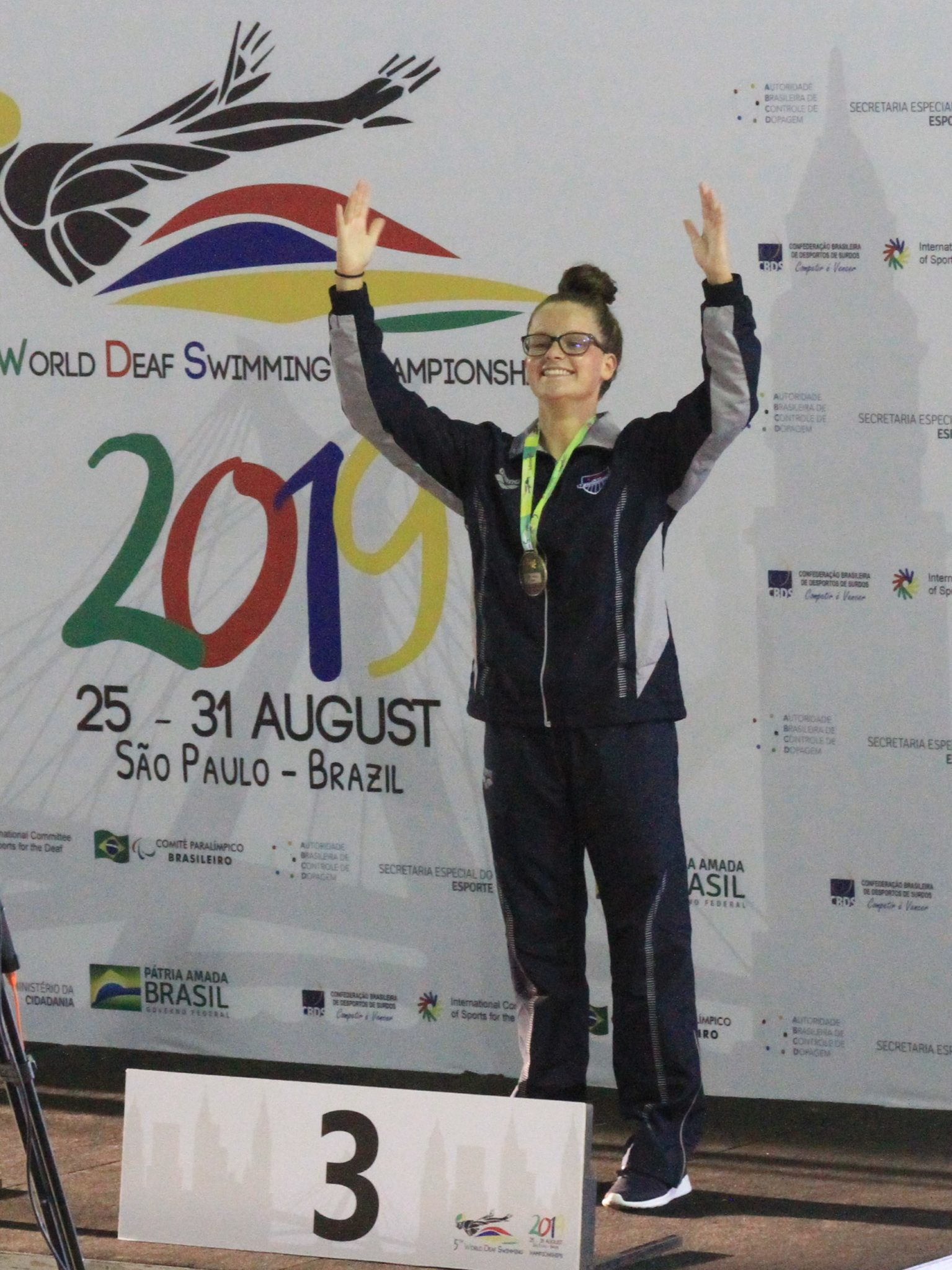 USA Grabs Bronze, Deaf American Record on World Deaf