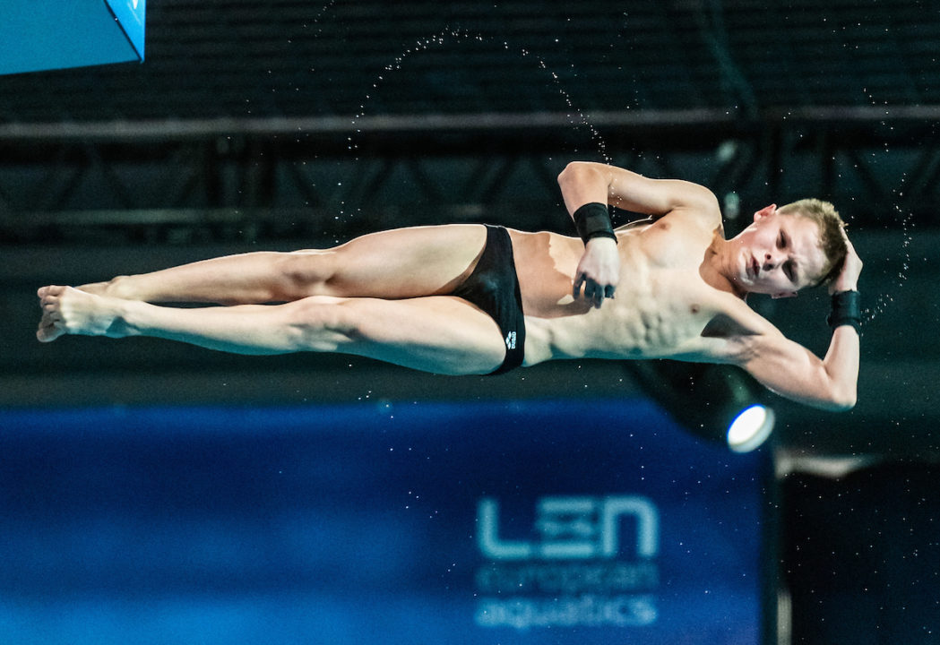 13-Year Old 10M Champion Oleksii Sereda Is Youngest Euro Diving Gold Medalist