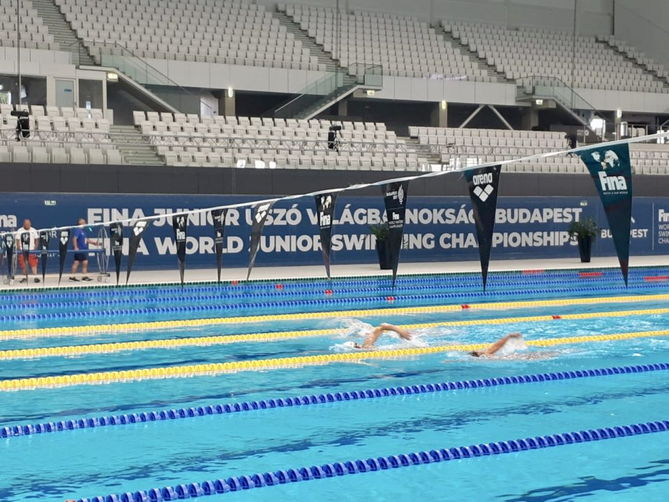Artur Barseghyan Lowers Own Armenian Record in 100m Free at World Juniors