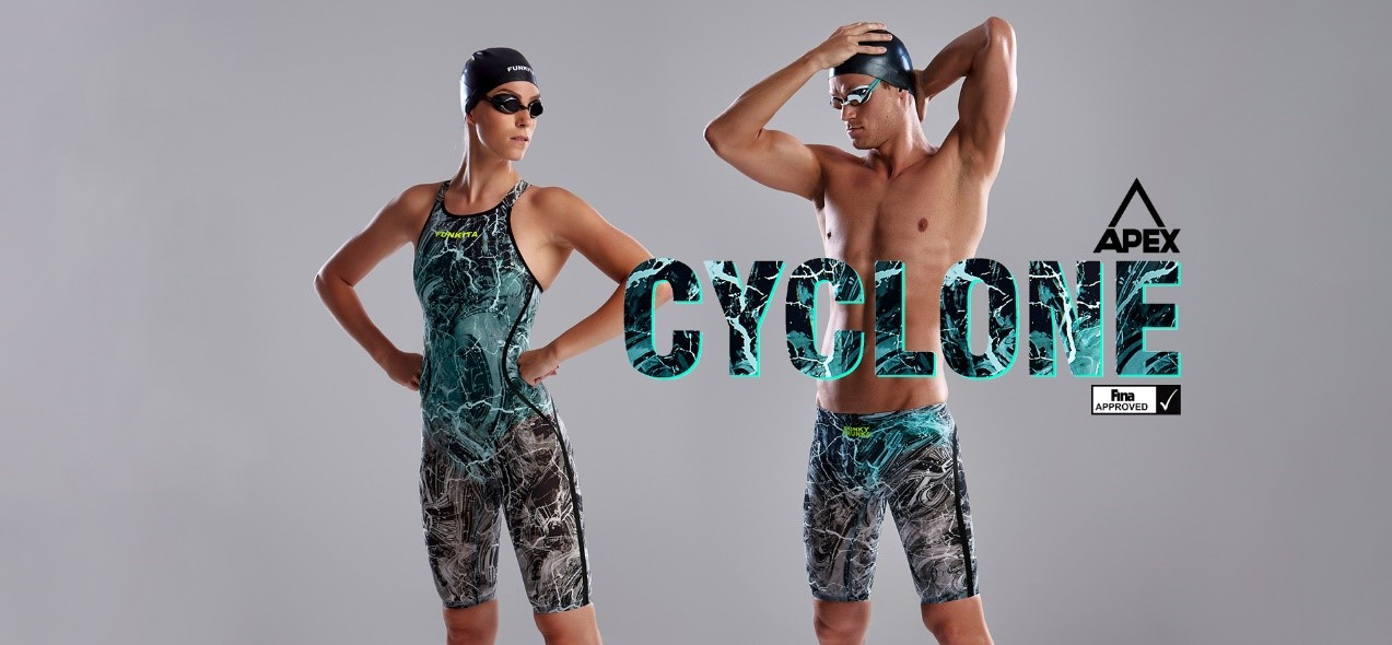 Funky Trunks and Funkita Announce the APEX Predator Cyclone Tech Suit