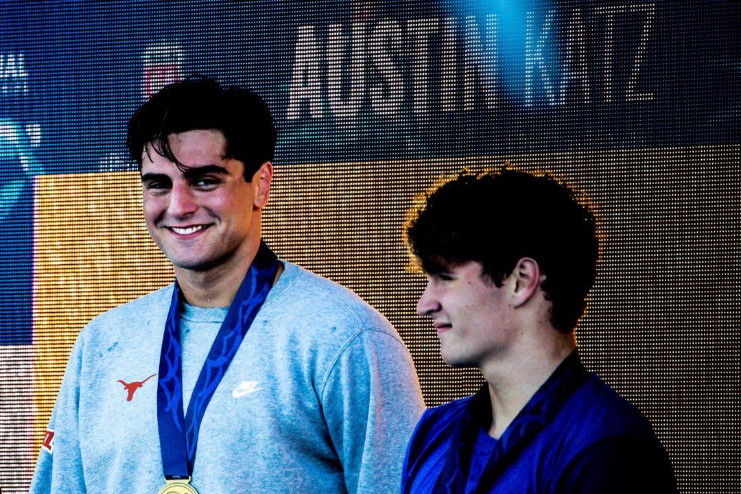 Texas Collegiate Swimmers and Alums Dominate San Antonio U.S. Open Psychs
