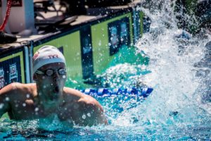 Brendan Burns Takes Advantage of Big Ten Meet Schedule, Four 41s to Close Meet