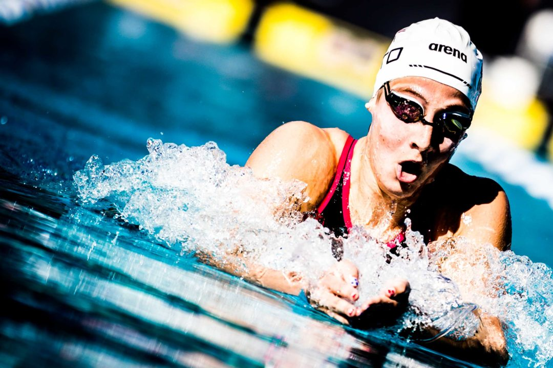 Brooke Forde Will Drop Day 3 Double, Swim 200 Breast at NCAAs