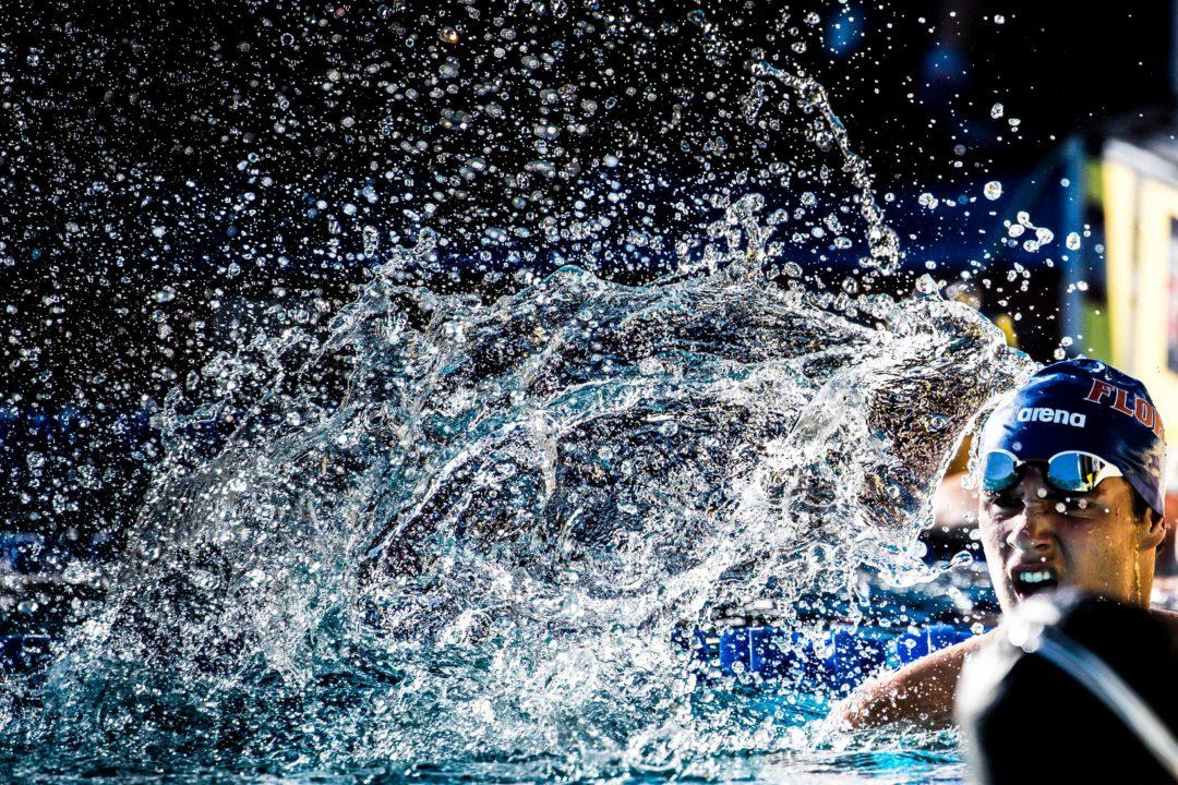 Florida's Clark Beach Tops UVA's Justin Grender in 200 Back Swim-Off For 8th