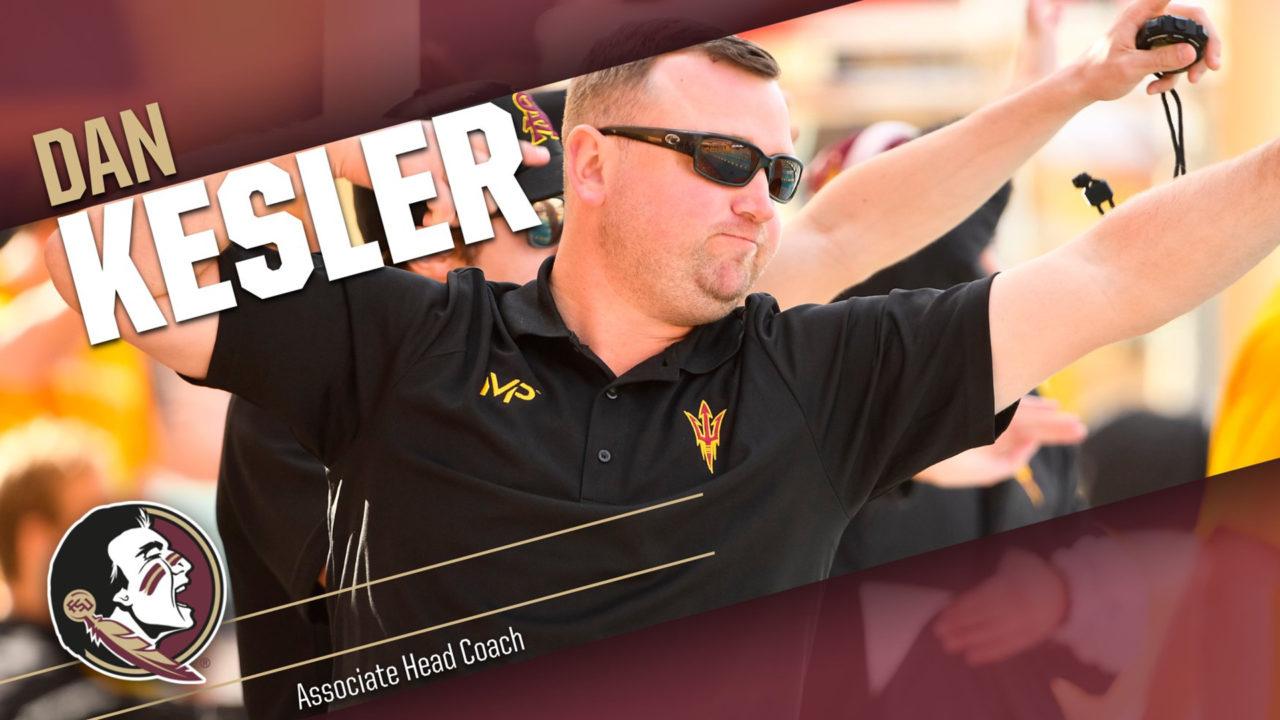 Florida State Swimming Hires Dan Kesler as New Associate Head Coach